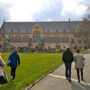 Aufstieg zur Kaiserpfalz